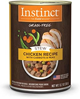 Instinct Chicken Carrots Natural Natures