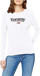 Tommy Jeans Dames Tjw Essential Logo Longsleeve Shirt