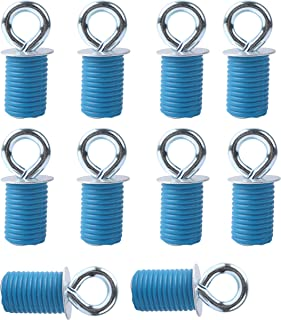 Podoy ATV Anchors Compatible with Polaris RZR 900 1000 XP Turbo Sportsman Ace, Lock & Ride ATV Tie Down Anchor - Not Fit Ranger(Pack of 10)