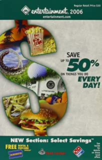 Entertainment Book 2006  - Save up to 50% on Things you do Every Day!  - Charlotte