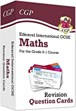 New Grade 9-1 Edexcel International GCSE Maths: Revision Question Cards (CGP IGCSE 9-1 Revision)