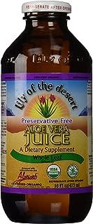 Lily of The Desert Aloe Vera Juice Whole Leaf, 16 Fluid Ounce