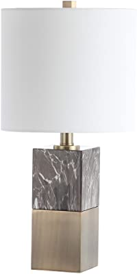 Safavieh TBL4129A Lighting Collection Kingsley Brown 20.5-inch Table Lamp, H