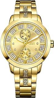 JBW Luxury Women's Lumen 6 Diamonds & 140 Swarovski Crystals Radiant Watch - J6341F