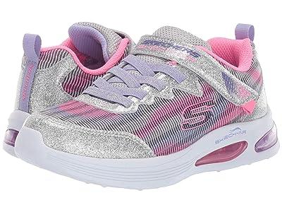 SKECHERS KIDS Sport Skech-Air Speeder 302046L (Little Kid/Big Kid) (Silver/Lavender) Girl
