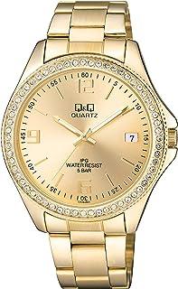 Q&Q Womens Quartz Watch, Analog Display and Stainless Steel Strap CA06J801Y