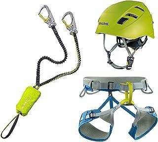Helm Protector 2.0 Midnight Navy Drehwirbel LACD Klettersteigset Ultimate Ferrata S mit mit Swivel