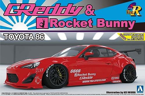 1 24 S package version R Series No.57 TOYOTA 86 '12 GrotDY & ROCKET BUNNY ENKEI Ver. (japan import)
