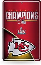 NFL Rico Industries LIV Large Embossed Metal Sign