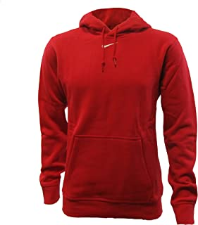 NIKE Mens Team Club Fleece Pullover Hooded Sweatshirt
