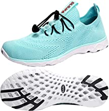 DLGJPA Women`s Quick Drying Water Shoes for Beach or Water Sports Lightweight Slip On Walking Shoes