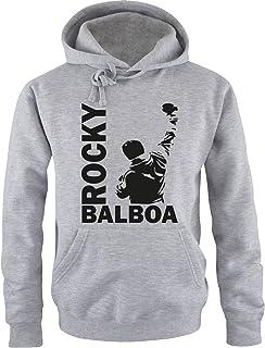 Nouveau Adultes Homme ROCKY BALBOA Gym Entraînement Boxe Vintage Pull-over à Capuche Haut