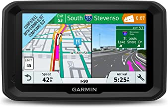 Garmin dezl 580 LMT-S, Truck GPS Navigator with 5-inch Display, Free Lifetime Map Updates, Live Traffic and Weather