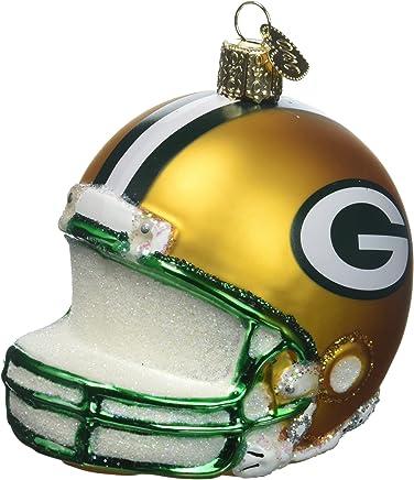 740872d459309d Old World Christmas Glass Ornament Green Bay Packers Helmet