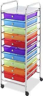 Whitmor 10 Drawer Craft Organizer Cart
