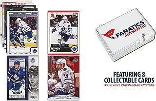 Joffrey Lupul Toronto Maple Leafs Unsigned 8 Card Lot - Hockey Player Sets