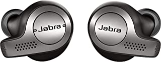 Jabra Elite 65t Earbuds – Alexa Built-In, True Wireless Earbuds with Charging Case, Titanium Black – Bluetooth Earbuds Engineered for the Best True Wireless Calls and Music Experience