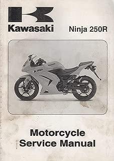 2008 KAWASAKI MOTORCYCLE NINJA 250R SERVICE MANUAL 99924-1391-01 (305)
