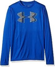 Under Armour Boys' Tech Big Logo Long Sleeve T-Shirts