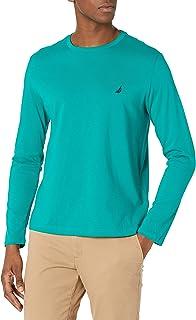 NAUTICA Men's J-Class Logo Long Sleeve T-Shirt