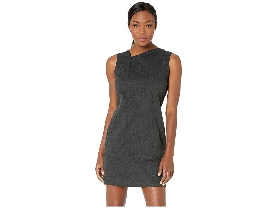 NAU Stretch Motil Sleeveless Dress (Caviar Heather) Women