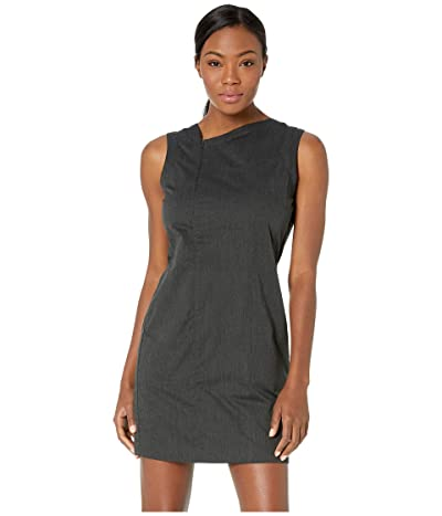 NAU Stretch Motil Sleeveless Dress (Caviar Heather) Women