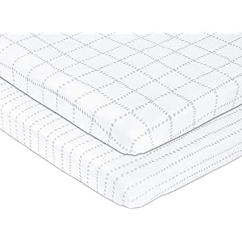 100/% Organic Jersey Cotton Pack N Play Sheets Playpen Ideal as Graco Pack and Play Mattress Playard Sheets Cactus Mini Crib Sheet for Baby Boy or Baby Girl Pickle /& Pumpkin Mini Crib Sheets