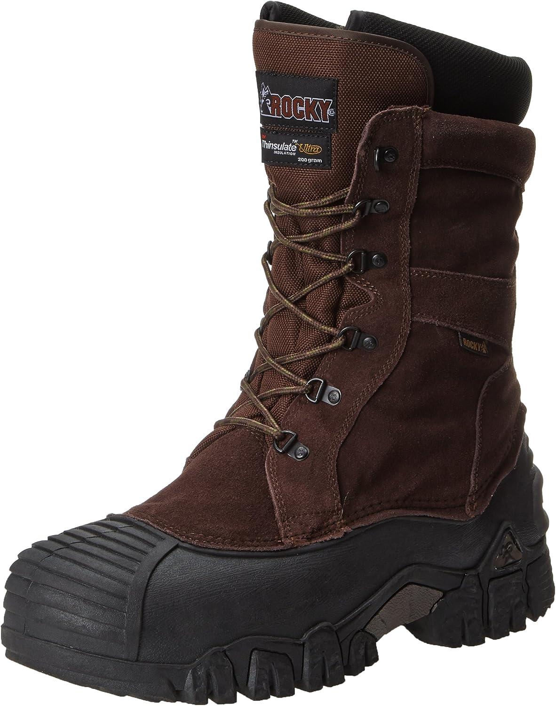Rocky Men's Japer Trac Men's Hunting Boot,Brown,9 UK