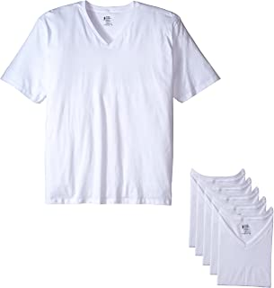 Men's T-Shirts Big & Tall Classic V-Neck T-Shirt - 6 Pack