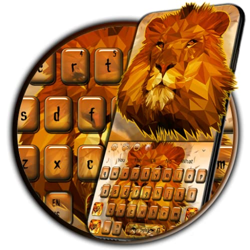 Lion HD Screen Keyboard Theme