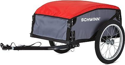 Schwinn Day Tripper Cargo Bike Trailer, Folding Frame, Quick Release Wheels