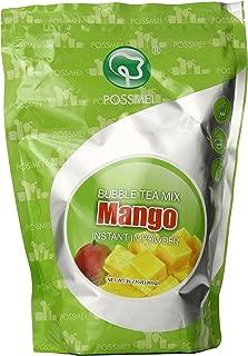 Possmei Bubble Tea Mix Instant Powder, Mango, 35.27 Ounce