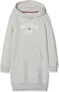 Tommy Hilfiger Essential Hoodie Sweatdress Sudadera Vestido para Niñas
