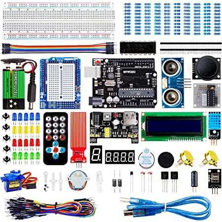 Smraza Arduino用初心者スターター 互換キット R3用 初心者向け チュートリアル付き