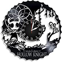 Hollow Knight Vinyl Wall Clock, Hollow Knight Design Gift for Any Occasion
