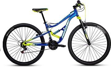 """Mercurio Bicicleta Ds Kaizer 29"""", Azul/Negro/Verde,"""