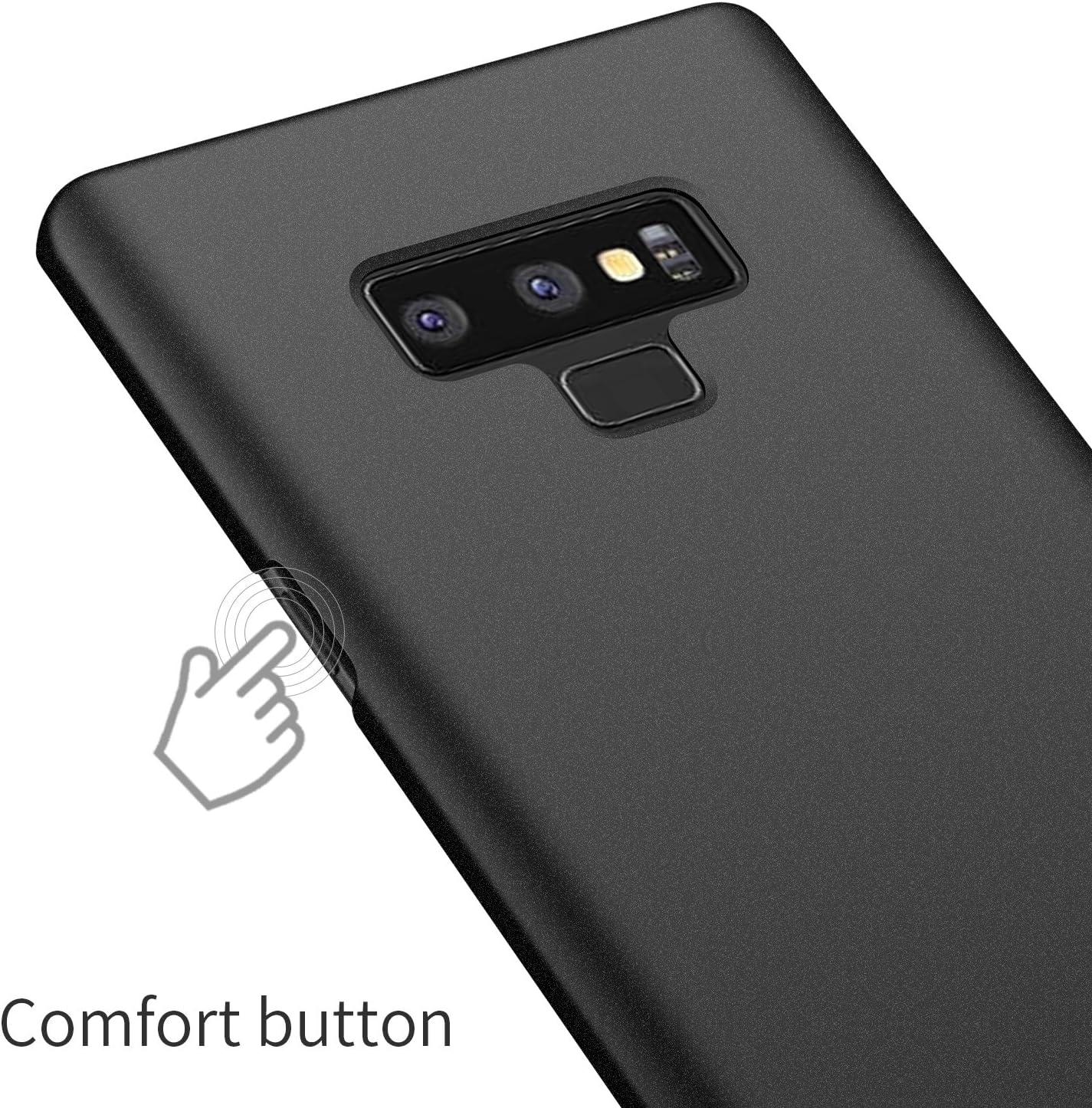 Arkour Galaxy Note 9 Case, Minimalist Excellent Grip Non-Slip Matte Surface Hard PC Slim Cover for Samsung Galaxy Note 9 (Gravel Black)