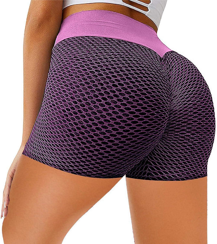 safety HHoo88 Cheap sale Womens High Waist Yoga Shorts Butt Gy Scrunch Sports Lift