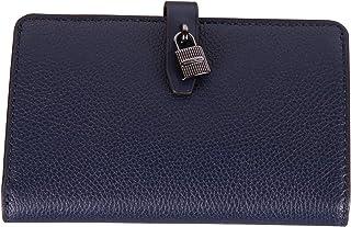 97af8577a8b5 Michael Kors Adele Slim Bifold Leather Wallet with Lock Detail