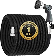 Garden Hose Expandable 100FT, Flexible Water Hose with Powerful Nozzle Spray, Car Wash..