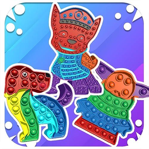 Fidget Bubble Pop Ouch - Fidget Toys Anti stress & Calm Pop It 3D Game