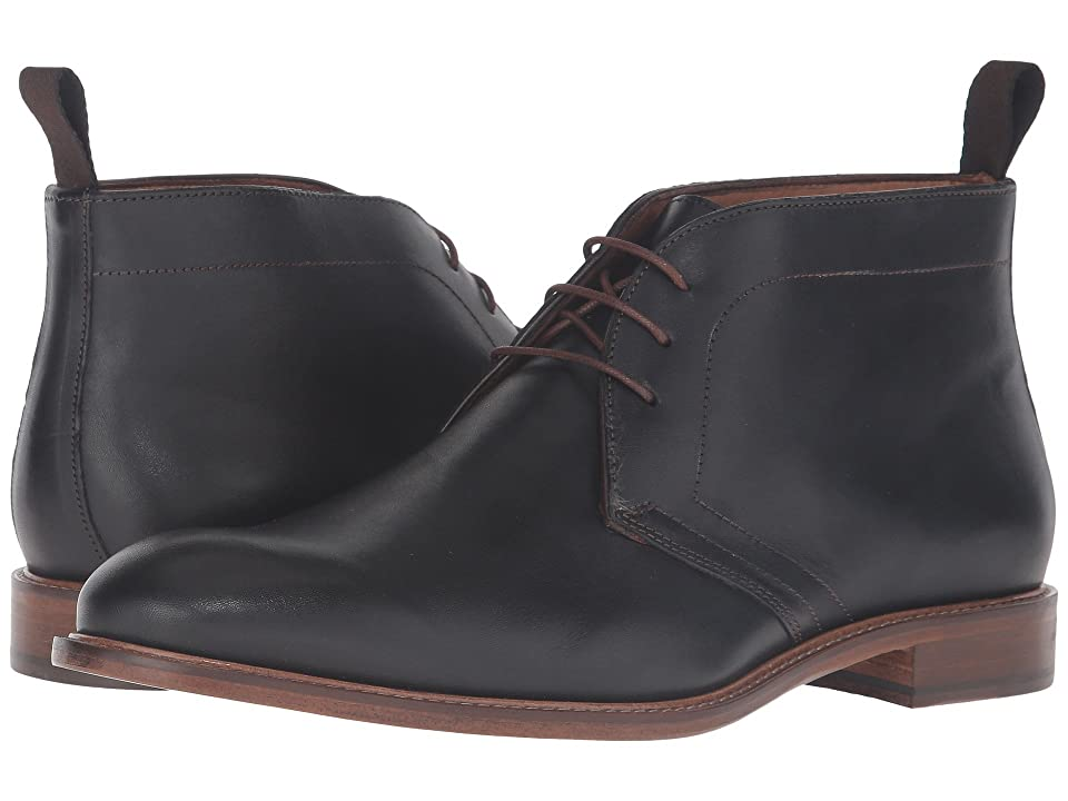 Massimo Matteo 3-Eye Chukka (Black) Men