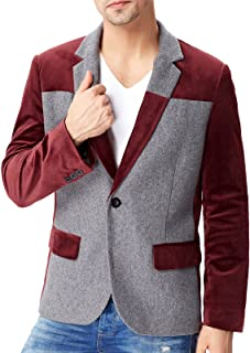 Amazon.es: Rojo - Trajes y blazers / Hombre: Ropa