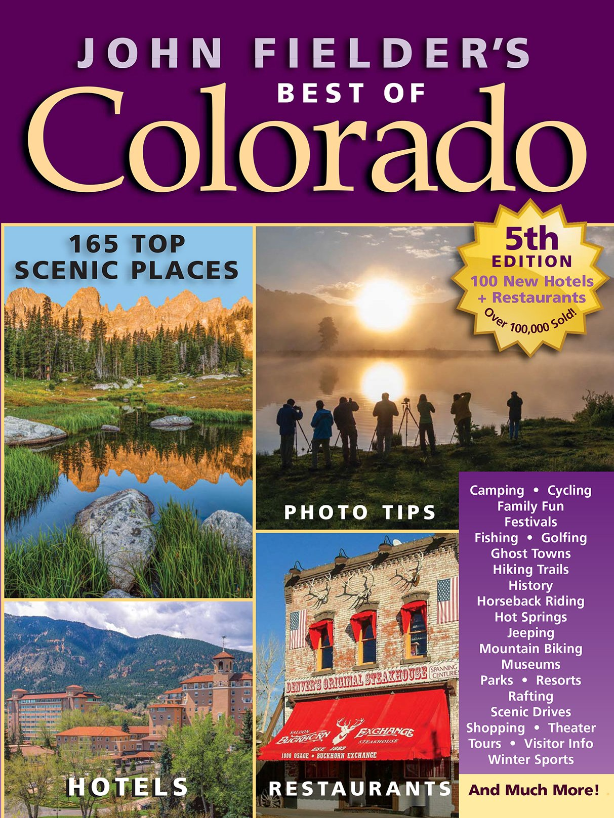 Image OfJohn Fielder's Best Of Colorado, 5th Edition