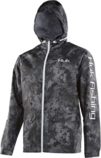 HUK Breaker Jacket Camo, Color: SubPhantis Night Vision (H4000050-075)