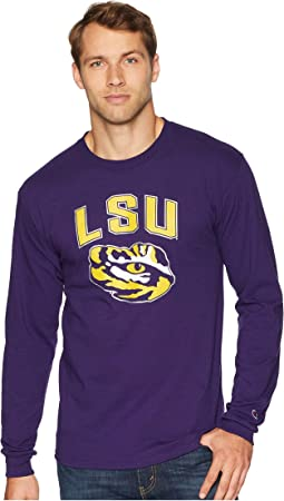 LSU Tigers Long Sleeve Jersey Tee