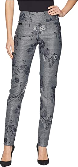 5009102a45 Glen Floral Print Slim Pants
