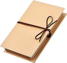 Mudder Scrapbooks Hardcover Photo Albums 4 x 6 Inch Photos Hand Made Kraft Paper for DIY Scrapbooking Anniversary Sketchbo...