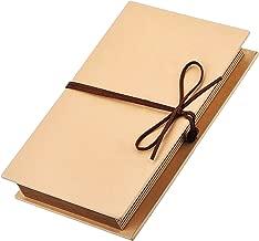 Mudder Scrapbooks Hardcover Photo Albums 4 x 6 Inch Photos Hand Made Kraft Paper for DIY Scrapbooking Anniversary Sketchbook Wedding Valentines Day Gifts