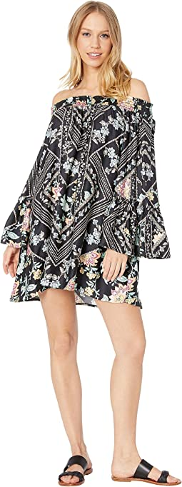 Diamond Vines Tunic Cover-Up